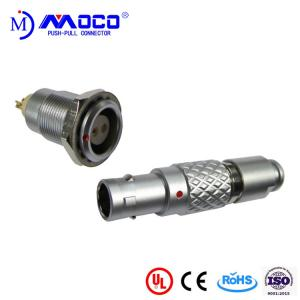 China 0B 2 pin male and female circular push pull connector for Infrared Camera on sale