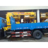 China Sinotruk xcmg 15T Truck Mounted Crane / Lorry Crane / Truck With Crane  /Pickup Truck , Right Hand Type on sale