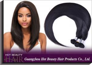 China Black Virgin Peruvian Hair Extensions on sale