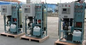 China RO Seawater Reverse Osmosis desalination Plant on sale