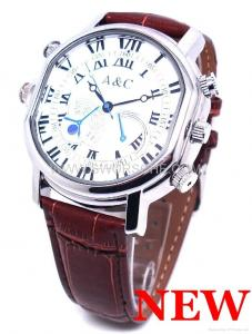 China H264 Spy Watch Camera with 1280x720P Video Resolution Video Watch Camera on sale