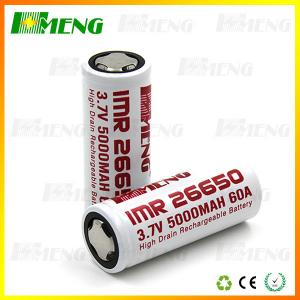 China High Drain Rechargeable Battery Safety Vape 3.7V E Cig Battery 5000mAh on sale