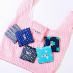 Easy Carry Small Foldable Pocket Reusable Grocery Tote Bags Waterproof