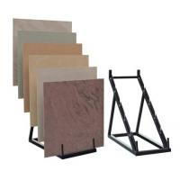 Retail stores Simple Ceramics Flooring Tile Display Rack triangle structure, step holders