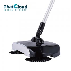 China OEM Black Automatic Floor Sweeper / Eco - Friendly Hand Push Sweeper on sale