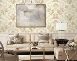 Modern European Floral PVC Wallpaper TV Background Wholesale Prices Unique Technology