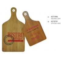 China Natural and eco-friendly Fruits vegetables kitchen cutting board bamboo shape on sale