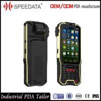 Outdoor Waterproof Cordless Hand Held Barcode Scanner Phone With Free SDK Info