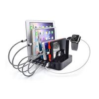 China Portable Fast Phone Charger, 6 Port Multi USB3.0/5V Desktop Changing Station Stand with US-Plug for Cell Phone on sale