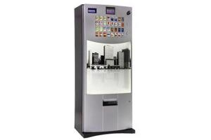 China Self Service Cigarette Tobacco Auto Vending Machine With Multi Lingual Interface And Remote Management on sale