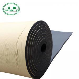 China Elastomeric Self Adhesive Heat Insulation NBR Rubber Sheet on sale