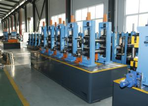 China Industrial Erw Tube Mill / Welded Pipe Mill 380V 440V 50HZ Frequency on sale