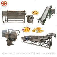 China High Quality Plants Automatic Sweet Frozen French Fries Making Producing Line Potato Chips Making Machine Price on sale