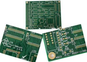 FR4 Double Sided PCB Board HASL LF Finished Surface Quick