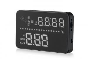 China GPS Bmw 3 Series Mini Head Up Display Aftermarket 3.5 Inch Multi Color LED Brightness Adjustable on sale