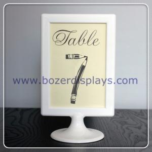 China Place Card Holder-Sign Holder-Table Number Holder, Wedding, Party, Buffet on sale