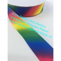 China 1-1/2 High quality variegated grosgrain  ribbon,wholesale character ribbon,Polyester ribbon,decoration ribbon on sale