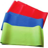 Red / Blue / Green / Yellow non-toxic Latex Exercise Resistance Bands, Yoga Stretch Band