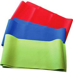 China Red / Blue / Green / Yellow non-toxic Latex Exercise Resistance Bands, Yoga Stretch Band on sale