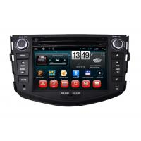 China Toyota RAV4 GPS Navigation Android Car DVD Player Steering Wheel Control BT TV Radio on sale