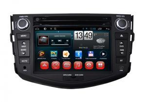 China Toyota RAV4 GPS Navigation Android Car DVD Player Steering Wheel Control BT TV Radio on sale