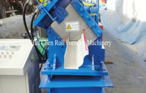 China Run Copper Half Round Seamless Gutter Machine with manual Decoiler on sale