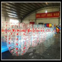 High quality football games RED and BLUE inflatable human bubble balls bumper balls/soccer bubbles
