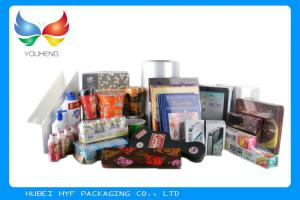 Quality Plástico de embalar de la página central de la poliolefina POF para L empaquetad for sale