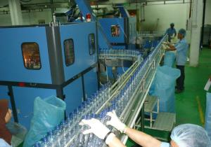China 3 In 1 Pet Bottled Water Production Line High Automation Level 2000BPH - 4000BPH on sale