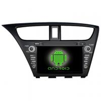 Wholesale Special Car DVD Player for Honda 2014 new Civic With DVB-T With TMC with GPS