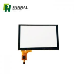 China 5 touchscreen capacitive multitouch overlay for industrial with black or customized color on sale