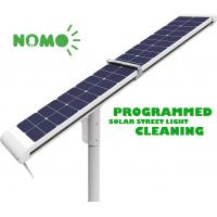 Intelligent Solar Led Motion Sensor Light 640 Wh With Mechanized Cleaning System