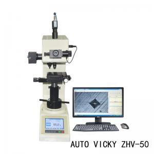 China Digital Vickers Hardness Tester / Benchtop Hardness Tester Auto Turret on sale