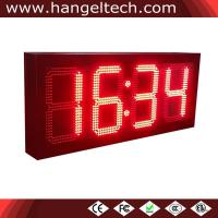 10 Inches Outdoor High Brightness Large LED Numeric Wall Clock