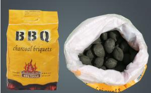 China Outdoor barbecue speed burning charcoal; family camping new 1KG flammable charcoal; paper bag barbecue carbon; on sale