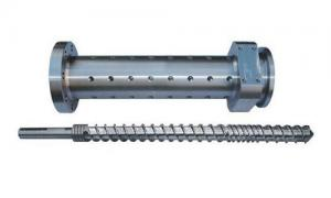 China Plastic Machine Extruder Screws And Barrels Nitriding Technology on sale
