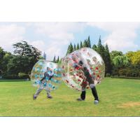 China Transparent Human Inflatable Soccer Ball Inflatable Sport Games Funny Bumper Ball on sale