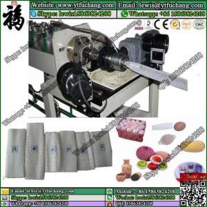 China NET Application and PE Plastic Processed Single extruder foam net making machine LDPE polyethylene Foam Net Extruder on sale