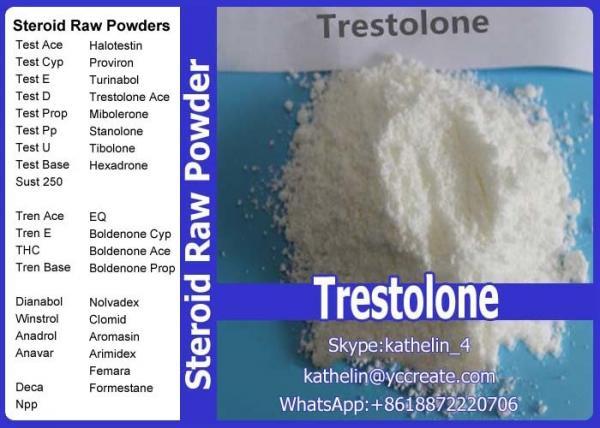 Steroid Hormone Raw Powder Trestolone Base Muscle Gain