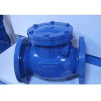API Cast Steel Non Return Check Valve Safety Reliable Sealing High Strength