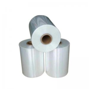 China Clear Safe Plastic Polyolefin Heat Shrink Wrap Sheet For Bottles Packing on sale