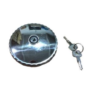 China Inner Diameter 78MM Benz Truck Parts Fuel Tank Cap With 2 Keys For GW 101 / 073 on sale