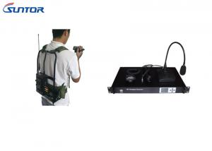 China Portable COFDM Wireless Transmitter With Dual Aerials Connectors , Stable Transmission supplier