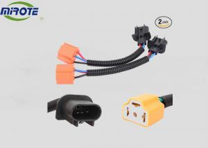China Ceramics Automotive Relay Socket , Wiring Harness Adapter  For Jeep LED Headlight on sale