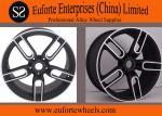 Um preto de 18 polegadas de Susha Roda-TUV SAE forjou a borda das rodas do alumínio para o carro de Honda