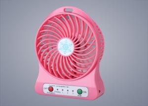 China 3 AA batteries Usb Powered Desk Fan Over 500 times ODM / OEM on sale