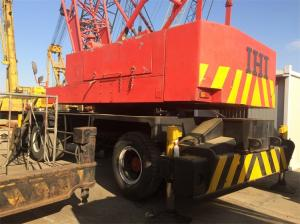 China Original From Japan IHI Used Harbour Crane For Sale in China ,Used Wheel Crane Red Color on sale