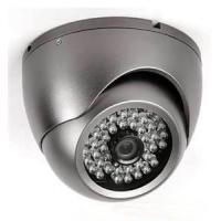 "6mm / CS Fixed Lens 3.5"" IR Vandalproof Dome Camera With SONY, SHARP Color CCD"