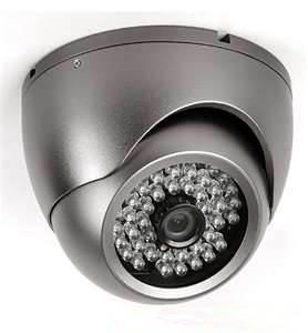 China 6mm / CS Fixed Lens 3.5 IR Vandalproof Dome Camera With SONY, SHARP Color CCD on sale