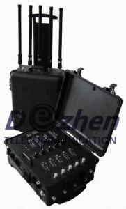 China Anti Explosion Portable Signal Jammer 80W High Power Wireless Radio Frequency Amplifier on sale